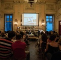 serata Incontri con Sabrina Ragucci e Giorgio Falco sul tema parola e fotografia nell'arte.