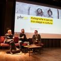 """Incontri 2017, con Giovanni Marrozzini e Angelo Ferracuti, serata su """"Fotografia e parola nel racconto delle culture""""."""