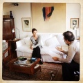 Con Lorenza Bravetta durante l'intervista per Phom.