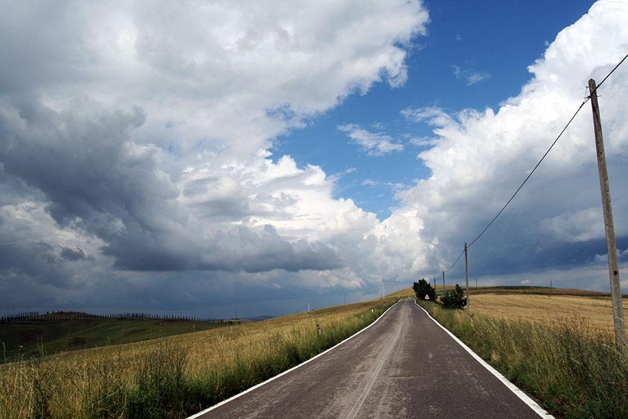 Nuvole in viaggio