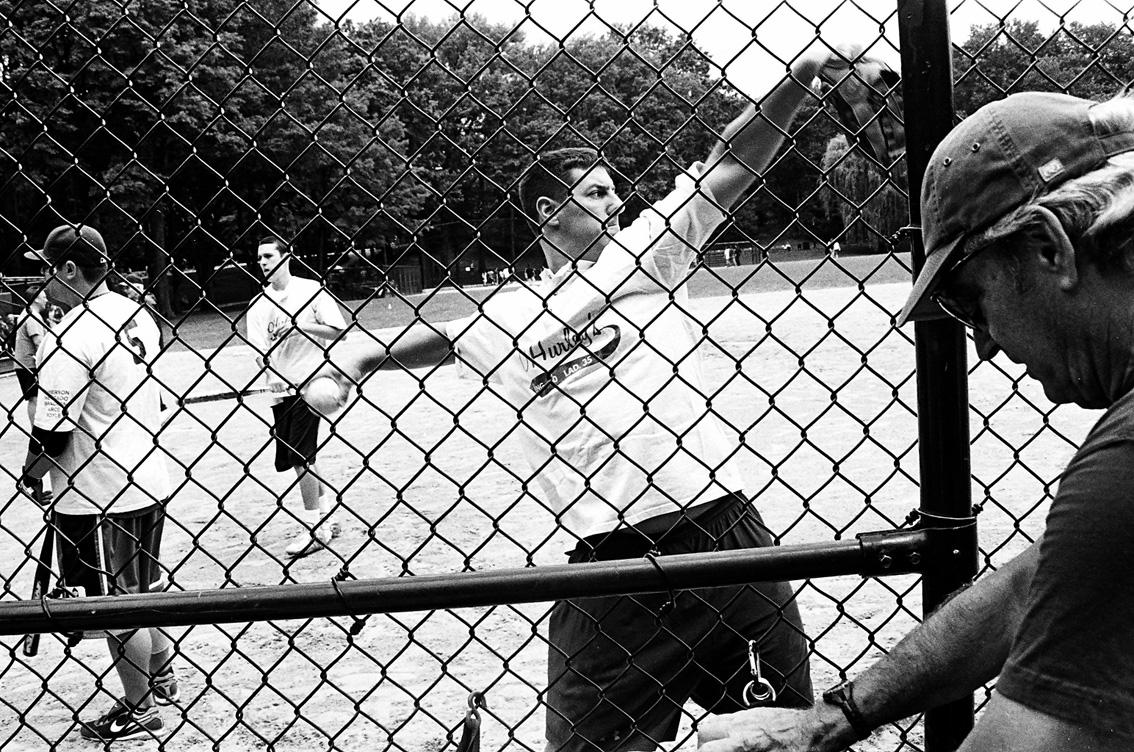 Baseball a Central Park