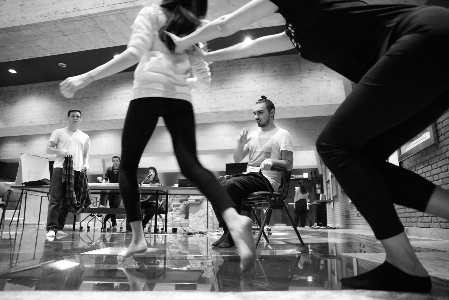 Performance teatrale Kerkis // Teatro San Lorenzo, Milano