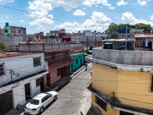 COLONIA LA VERBENA, GUATEMALA- AUGUST 2018