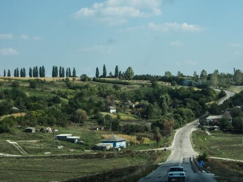 GRIGORAUCA, MOLDOVA - SEPTEMBER 2014