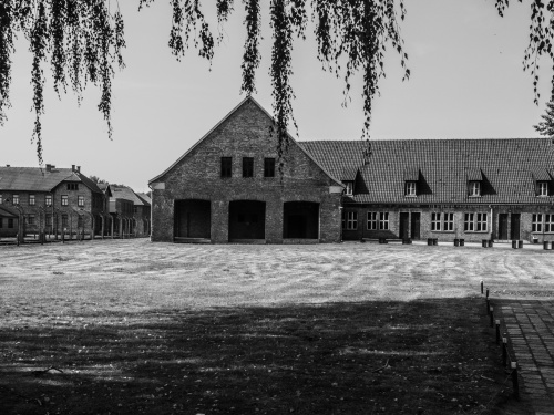 AUSCHWITZ-BIRKENAU, POLAND - AUGUST 2015