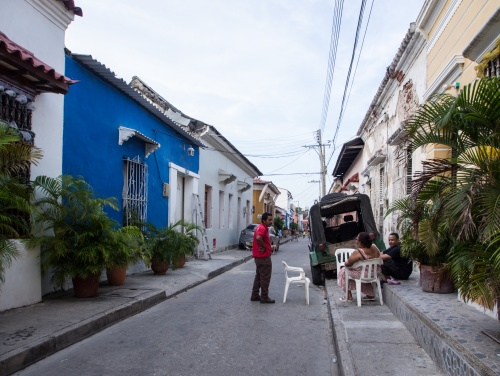GETSEMANÍ, COLOMBIA - JANUARY 2017