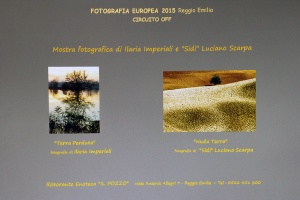 """""""Nuda terra"""" Fotografia Europea 2015 Circuito OFF- Ristorante Enoteca """"Il Pozzo""""  Reggio Emilia"""