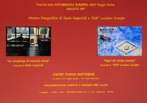"""""""Segni del tempo passato"""" Fotografia Europea 2017 Circuito OFF - Bar Farini, Reggio Emilia"""
