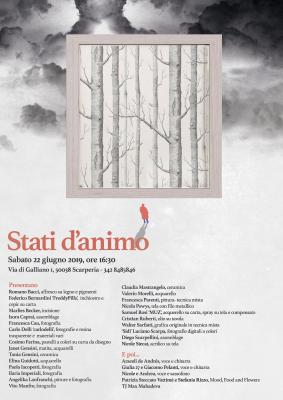 """""""Stati d'animo"""" via di Galliano 1 - Scarperia (Fi) 22 giugno 2019"""
