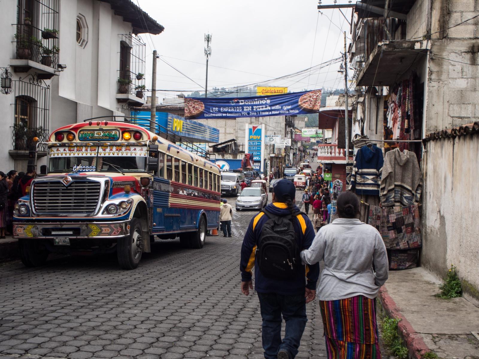 CHICHICASTENANGO, GUATEMALA - AUGUST 2018