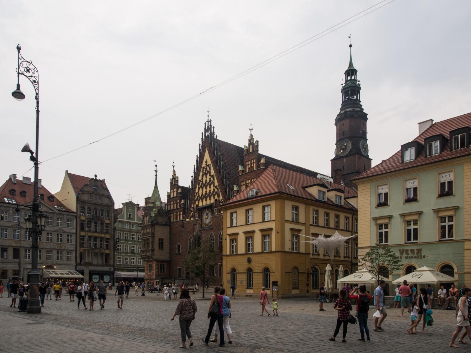 WROCLAW, POLAND - AUGUST 2015