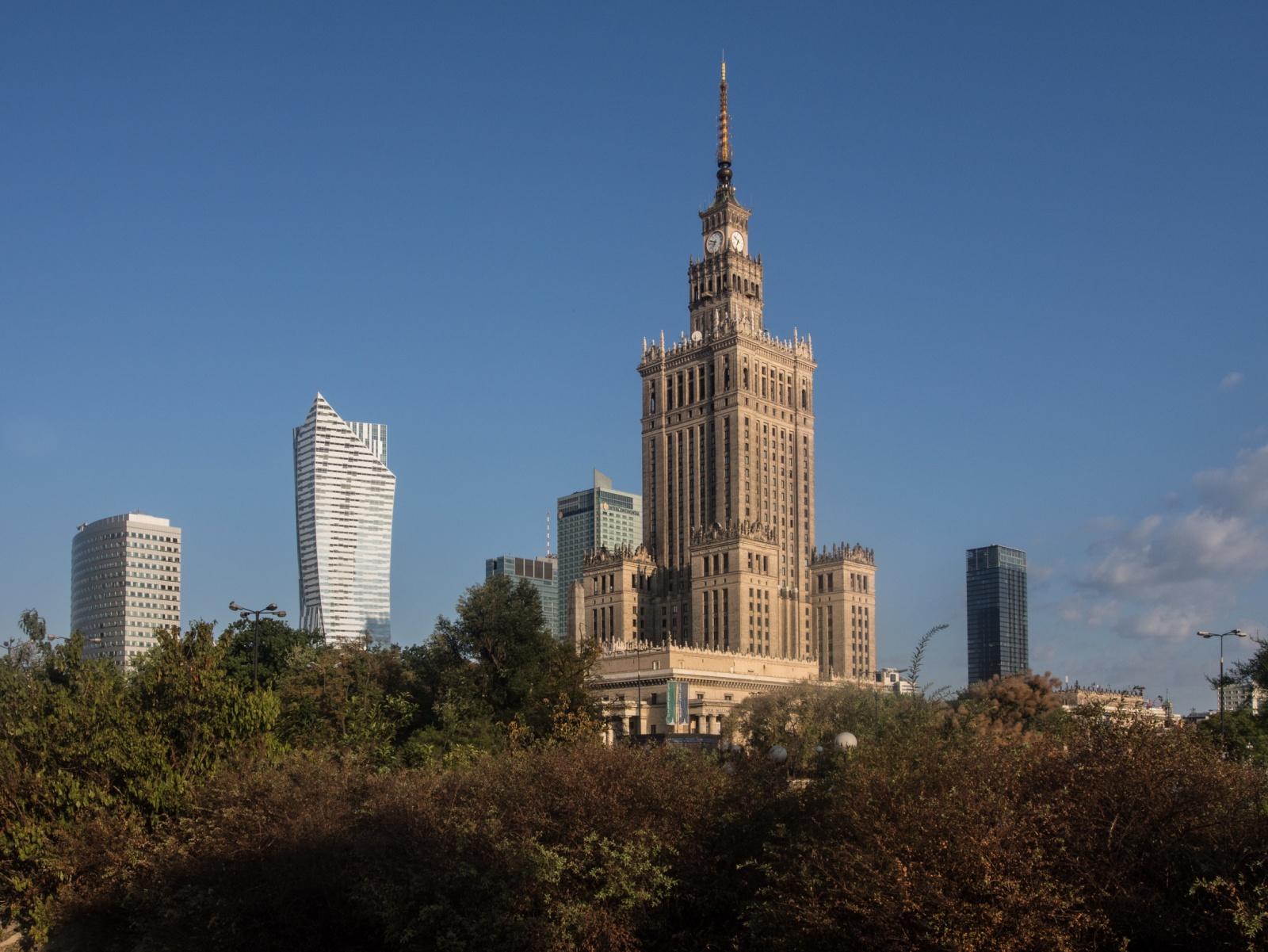 PKiN, POLAND - AUGUST 2015