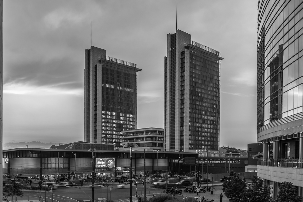 Nuova area Garibaldi, Milano, panorama
