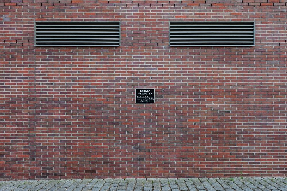 Amburgo, parete di un docks