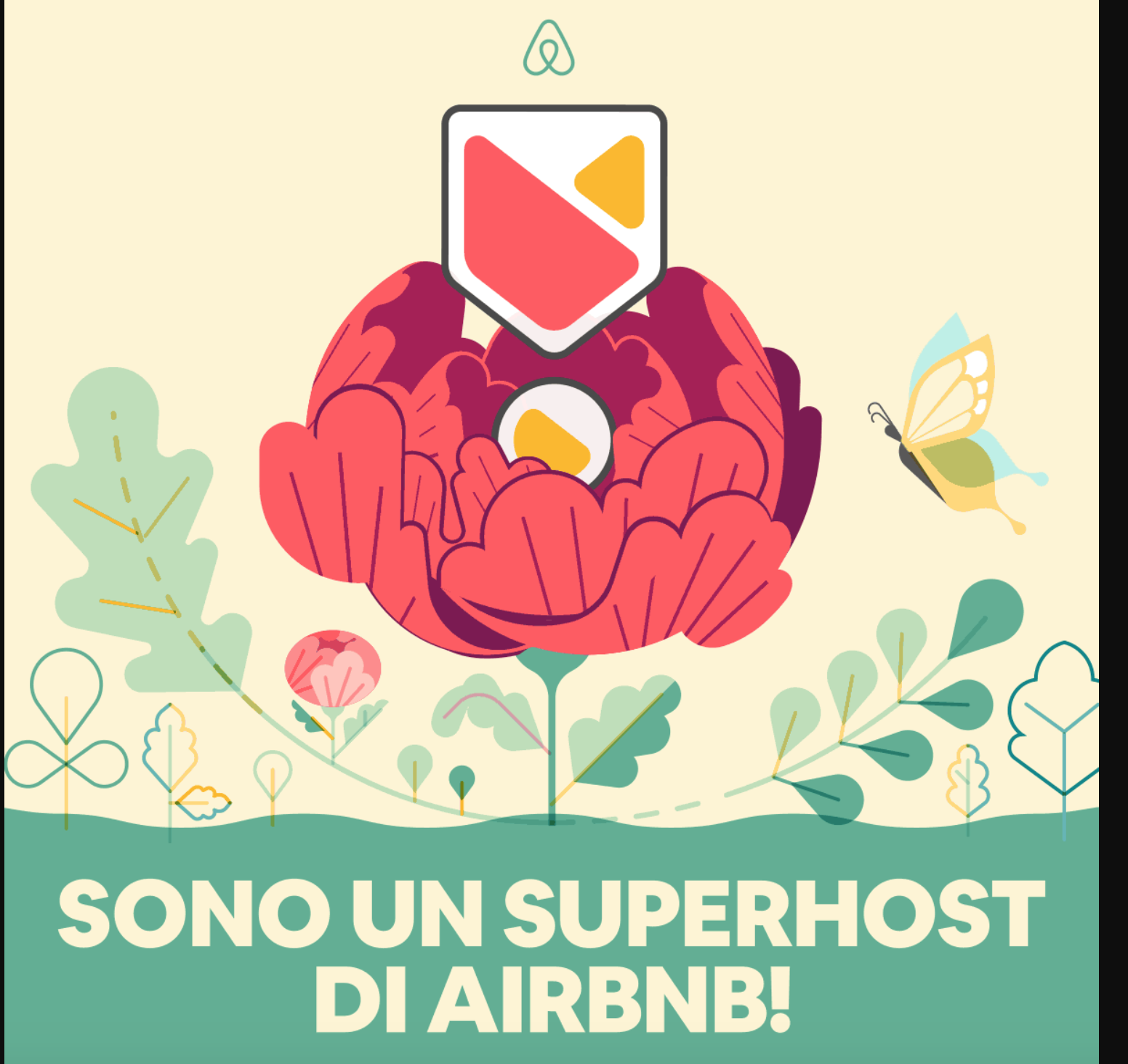Riconoscimento di superhost da parte di Airbnb