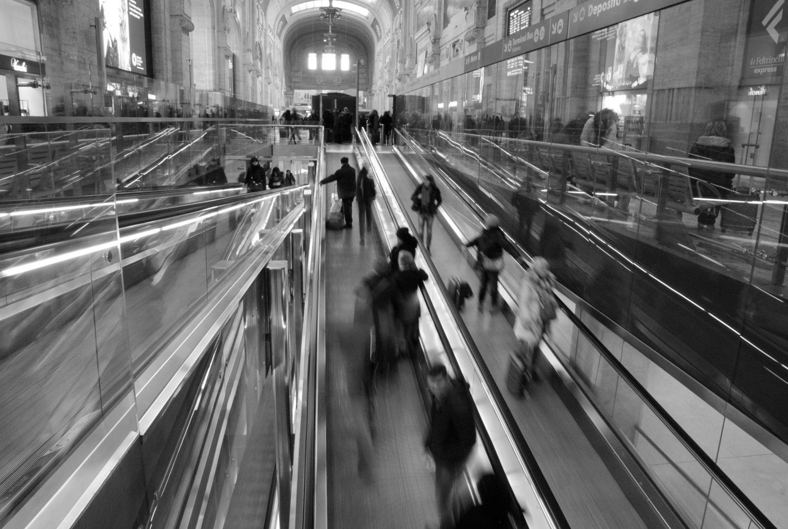 Arrivi, partenze e ri-partenze // Milano