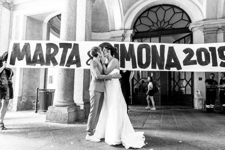 Marta + Simona // Un amore tutto al femminile - Milano Pride